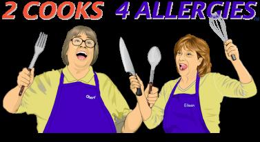 Medium sized logo of 2cooks4allergies.com